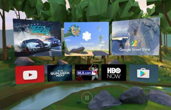Google-Daydream VR demo