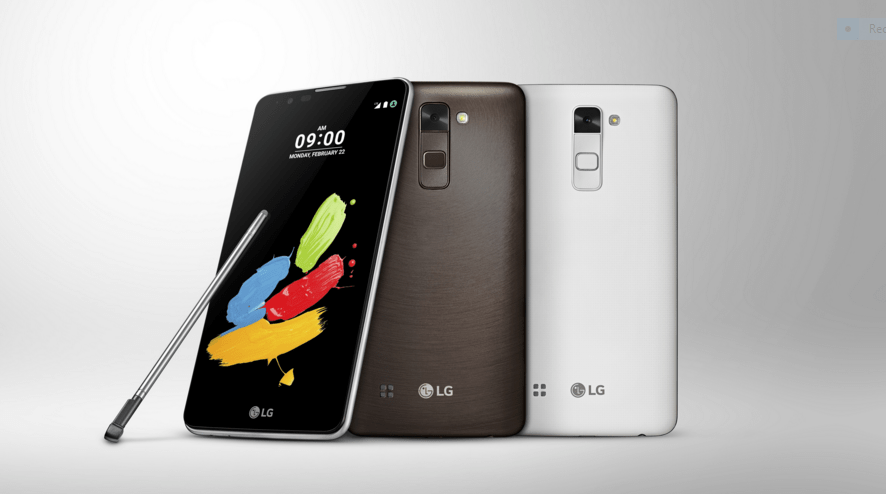 LG Stylus 2 vs Samsung Galaxy Note 5