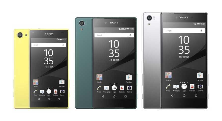Sony Xperia X series vs. Sony Xperia Z5 series