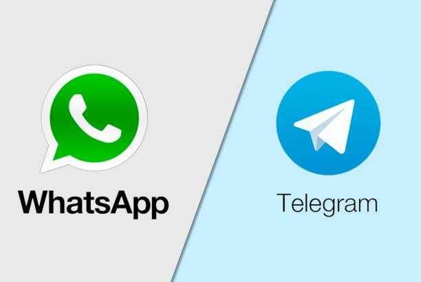 WeChat and Telegram