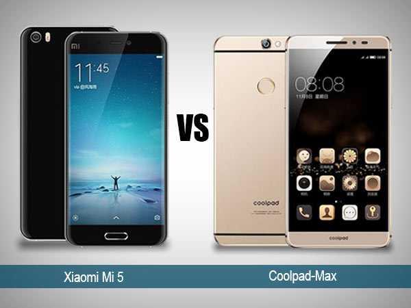Xiaomi Mi 5 vs Coolpad Max