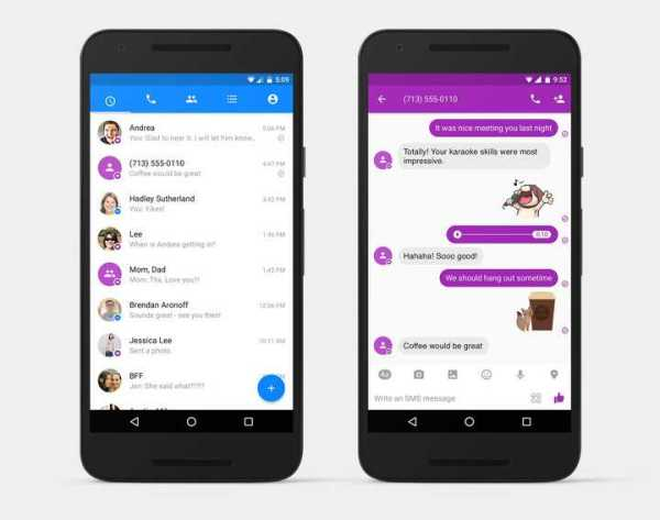 Facebook Messenger Re-Introduces SMS Support