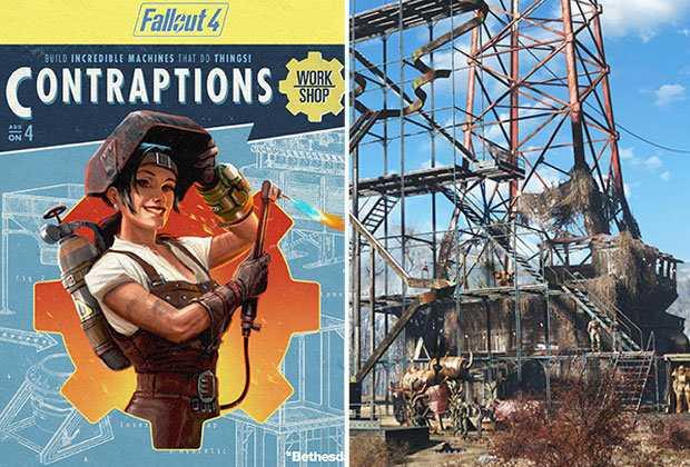 Fallout 4 Contraptions DLC