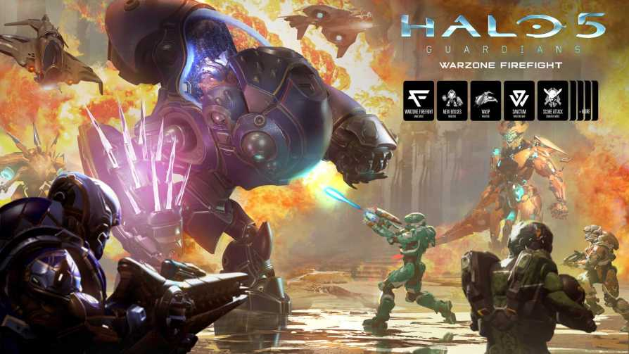 Halo 5 Gets Warzone Firefight