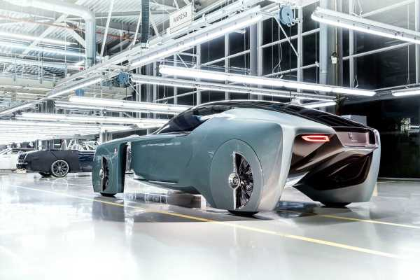 Rolls Royce 103EX Vision Next 100 rear