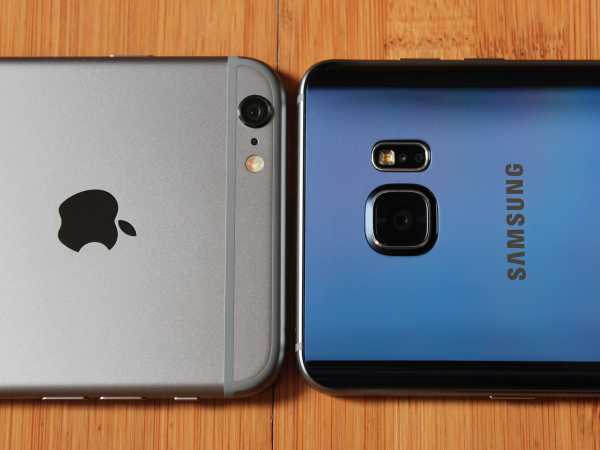 Samsung Galaxy Note 5 and iPhone 6S Plus