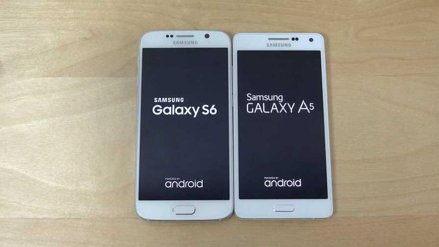 Samsung Galaxy S6 vs Galaxy A5 (2016)