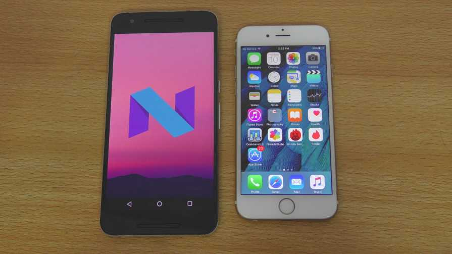 Android N vs iOS 9