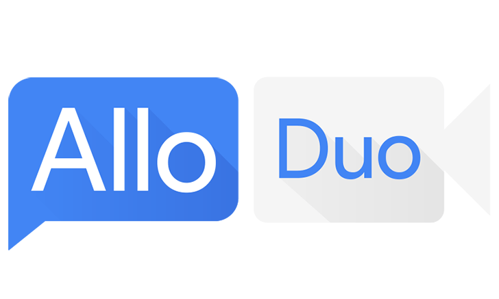 Google Hangouts, Google Allo and Google Duo