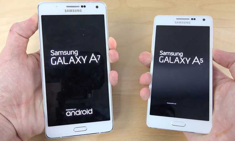 Samsung Galaxy A5 and A7 Android Marshmallow
