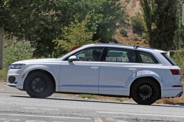 Audi Q8 Spy Shot