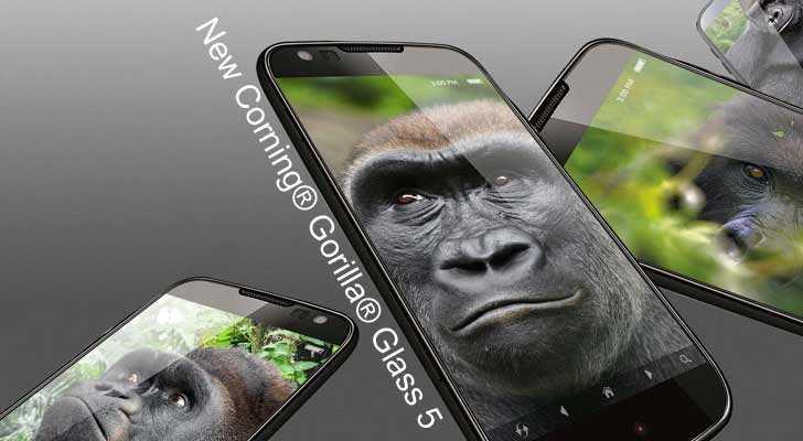 Galaxy Note 7 and Gorilla Glass 5