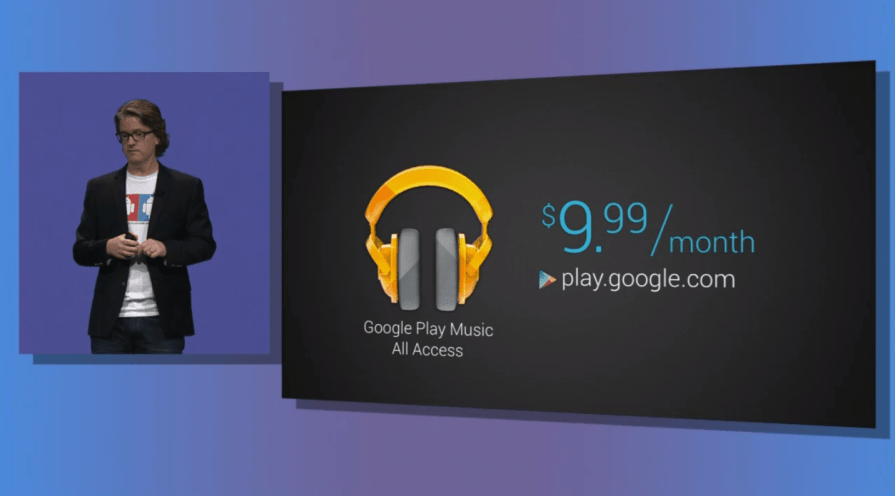 Google Play Music All Acess