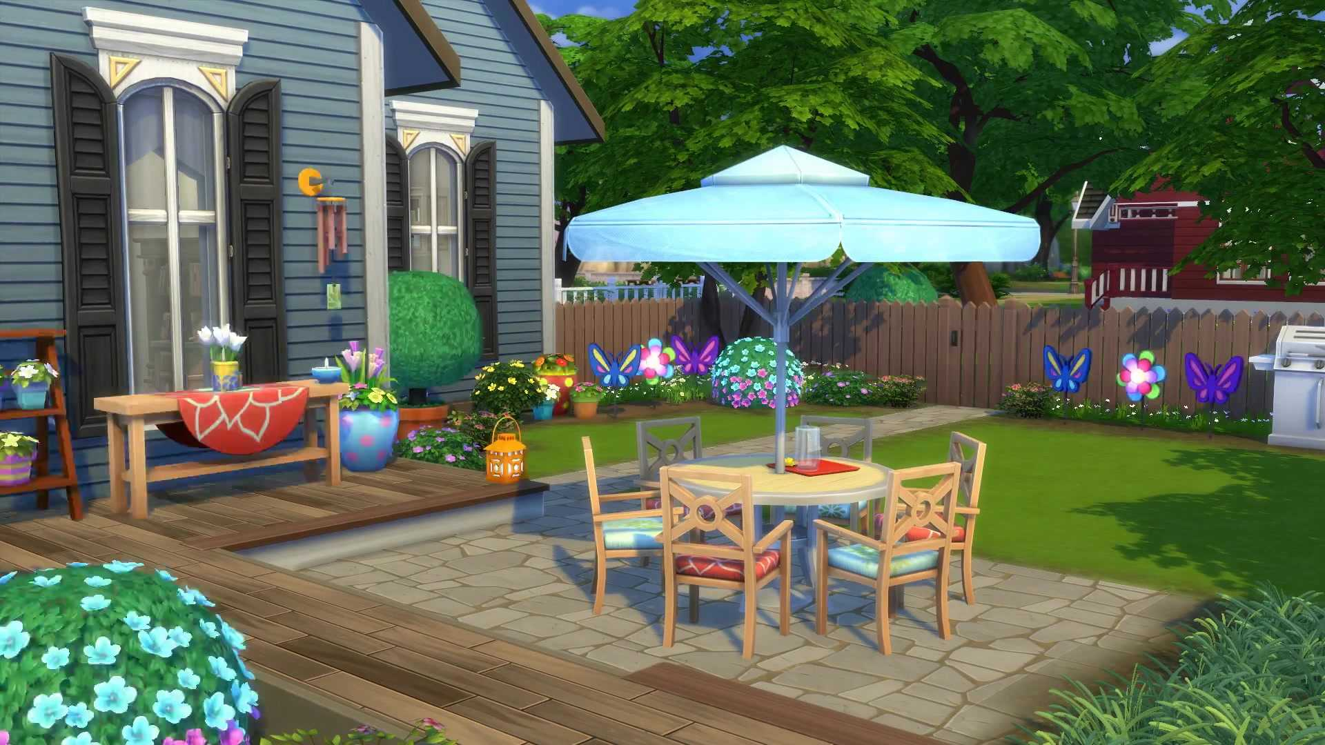 The Sims 4 Backyard Stuff DLC Gets Official Trailer And