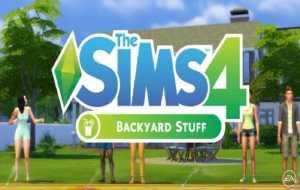 Sims 4 Backyard Stuff