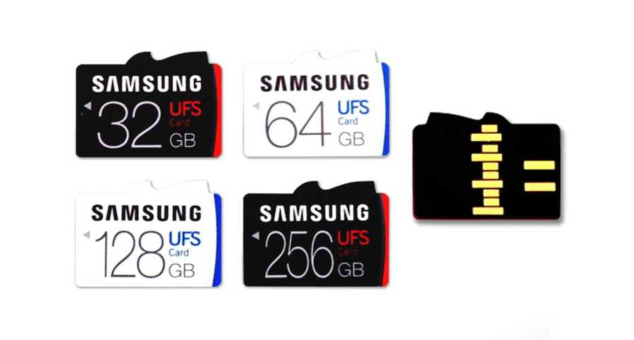 Samsung UFS Memory Card