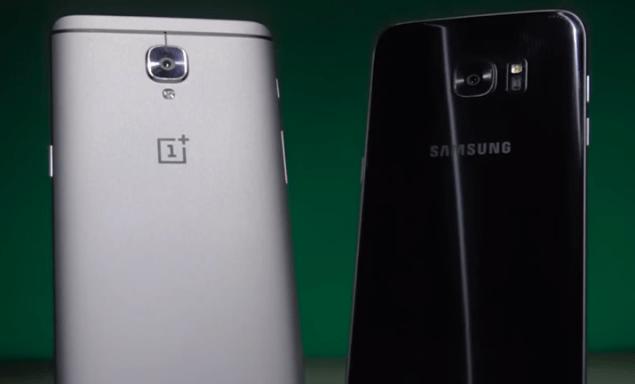 OnePlus 3 vs Galaxy S7 Edge