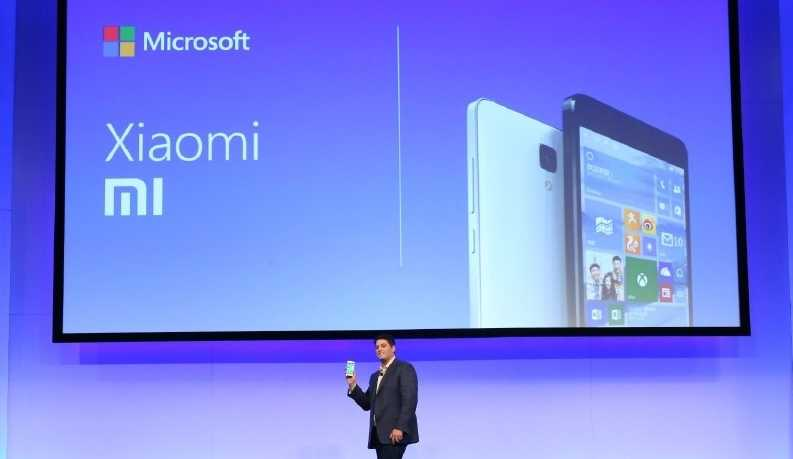 xiaomi and Microsoft patent deal