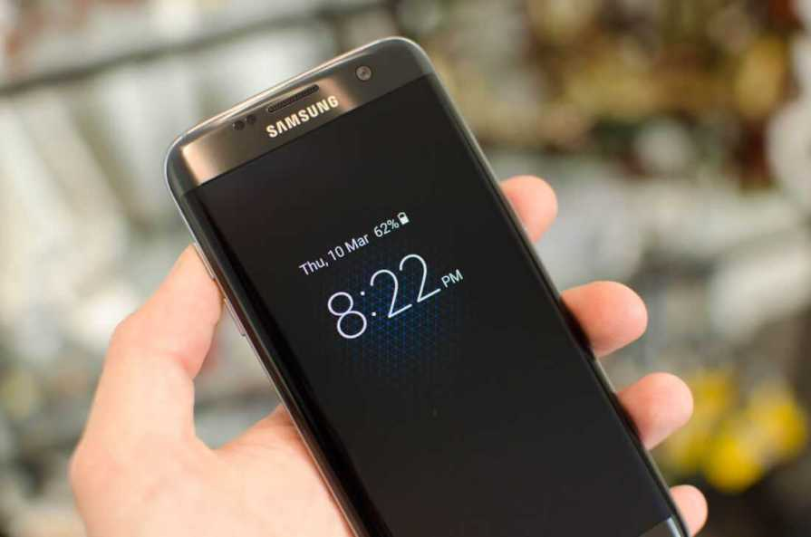 Galaxy S7 and S7 Edge Always On Display