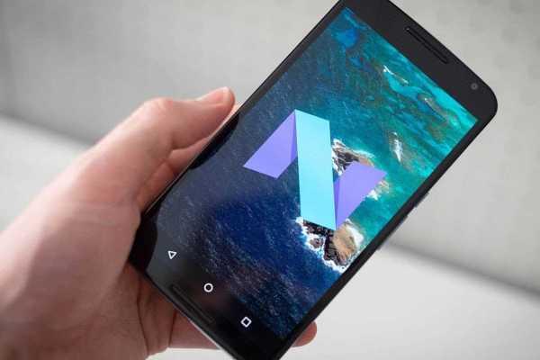 Android Nougat on Google Nexus 6P