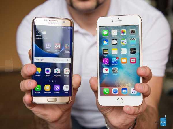 Apple iPhone 6S vs Samsung Galaxy Note 7