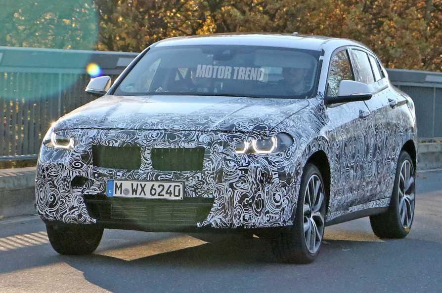 BMW X2 Prototype Front