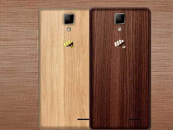 Micromax Canvas 5 LiteSpecial Edition rear