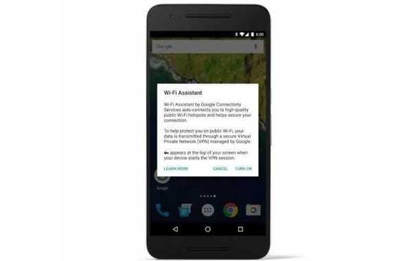 Nexus Wi Fi Assistant