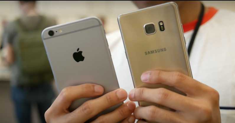 Samsung Galaxy Note 7 vs Apple iPhone 6S