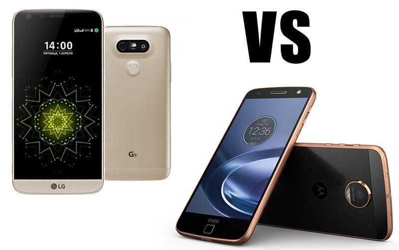 LG G5 vs Moto Z