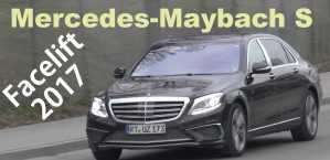 2017 Mercedes S-Class Facelift Through Maybach