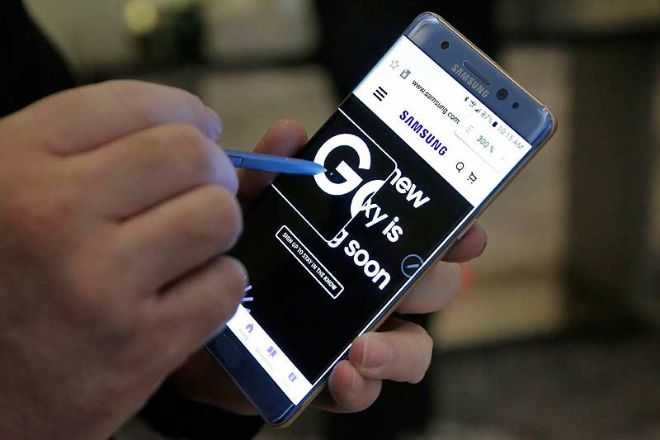 Galaxy Note 7 Overheating Problem