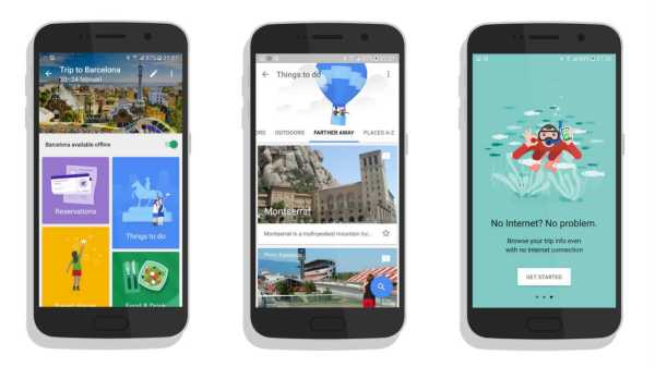 Google Trips Planning Vacation