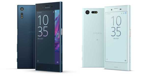Sony Xperia XZ and X Compact