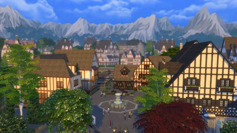 The Sims 4 City Living Expansion