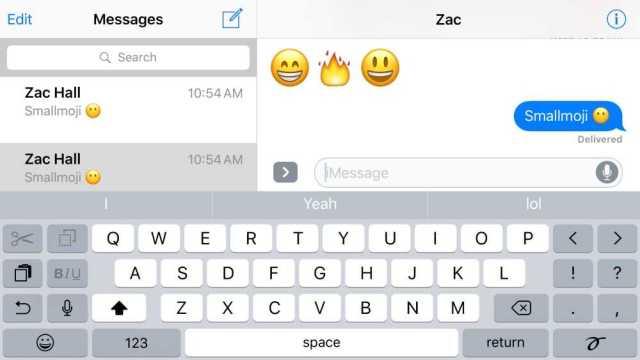 iOS 10 3D Emojis
