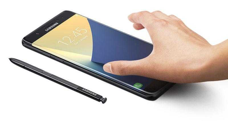 Samsung Galaxy Note 7 vs iPhone 7 Plus
