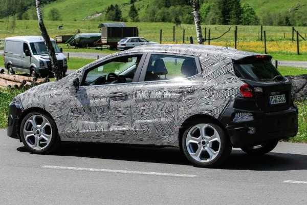 2017 Ford Fiesta Spy Pictures