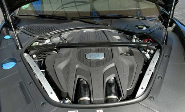 2017 Panamera V8 twin-turbo engine