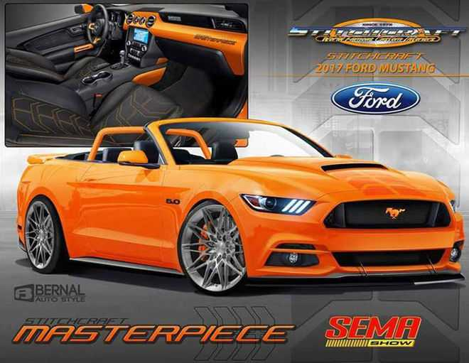 2017 Ford Mustang Convertible by Stitchcraft