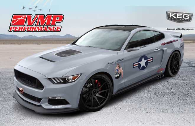 2017 Ford Mustang by VMP