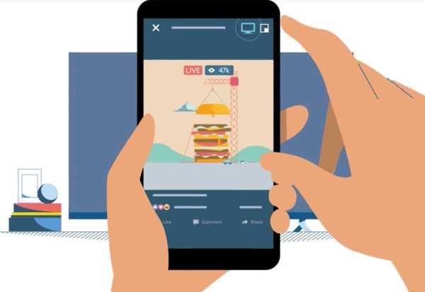 Facebook Stream Videos to Apple TV and Google Chromecast