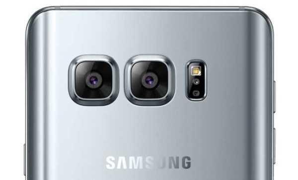 Galaxy S8 Edge Dual Cameras