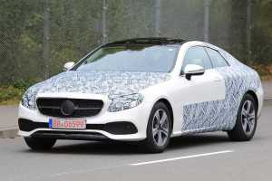 Mercedes E-Class Coupe Without Camouflage