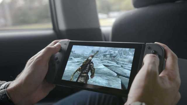Nintendo Switch Low Resolution