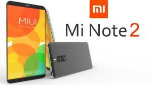 Xiaomi Mi Note 2 Leaks