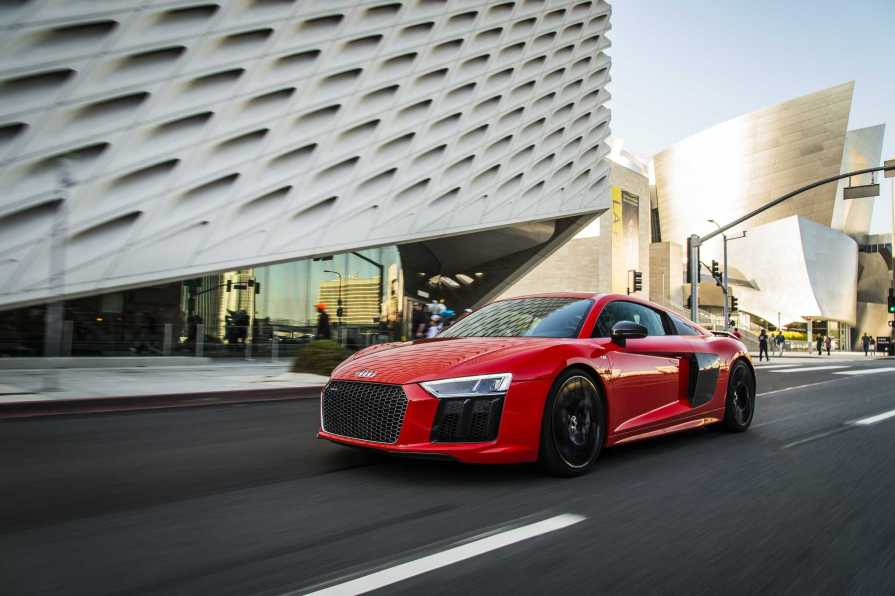 2017 audi r8 v10 plus becomes first audi to offer laser lights in the us
