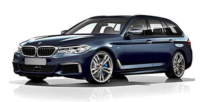 2017 BMW 5 Series G31 Touring