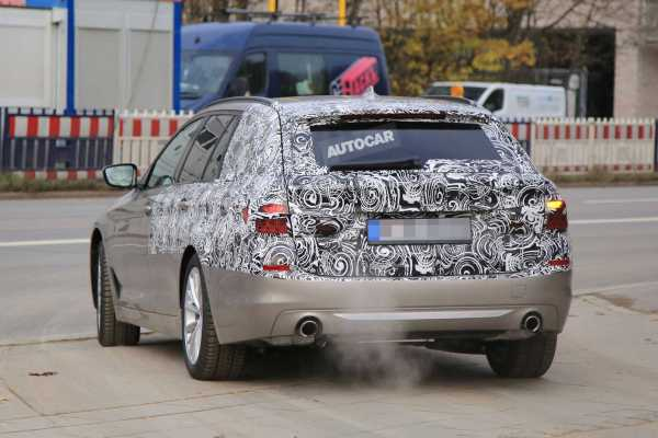 2017 BMW 5 Series Spy Photos