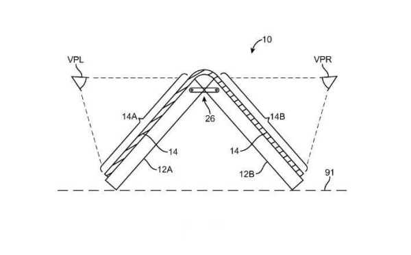 Apple Patent for Foldable iPhone
